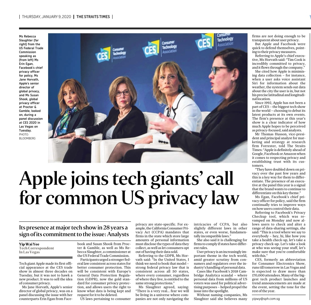 Apple selling on privacy